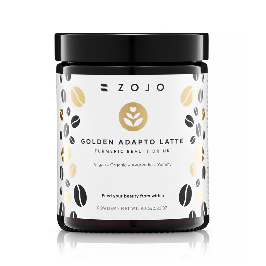 ZOJO ELIXIRS Golden Adapto Latte | SoBio Beauty Boutique