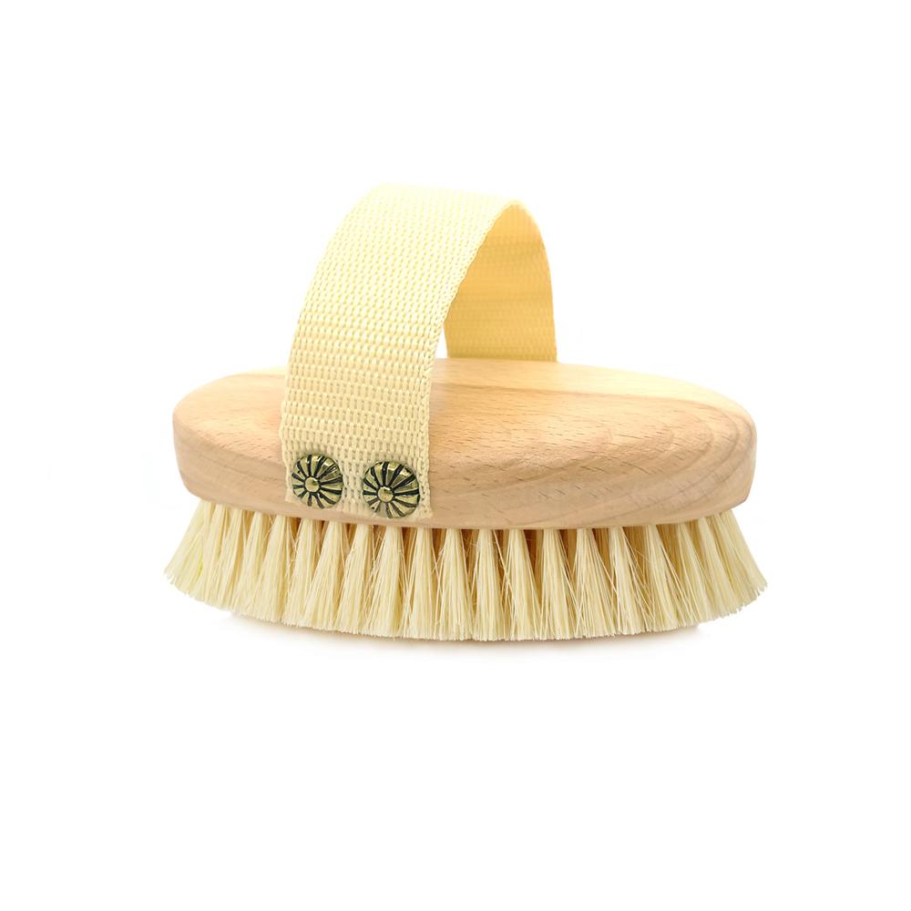 CRYSTALLOVE Szczotka do masażu ciała na sucho (TAMPICO -AGAWA) | SoBio Beauty Boutique