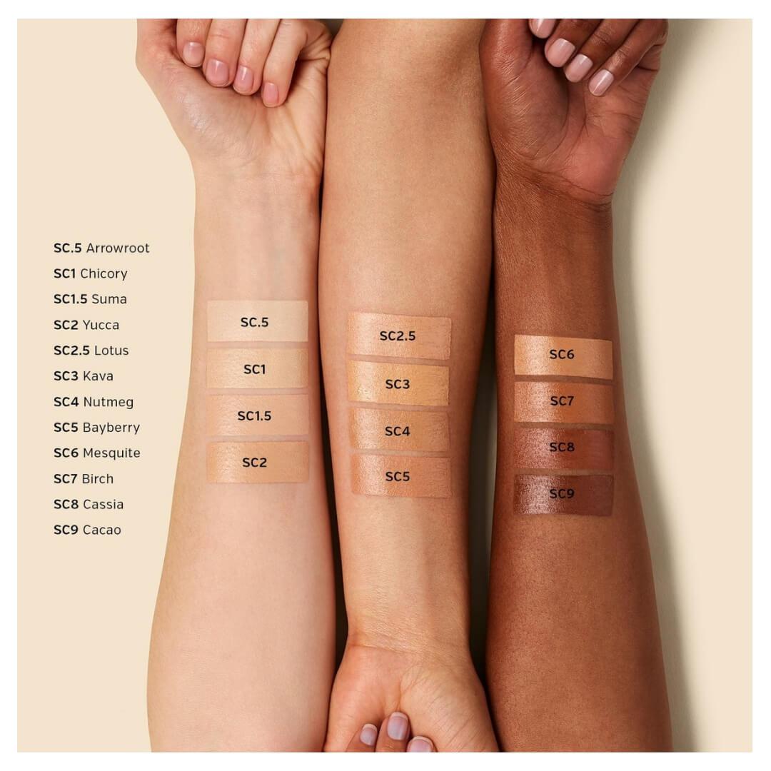 ILIA BEAUTY True Skin Serum Concealer | SoBio Beauty Bourique Swatches-2