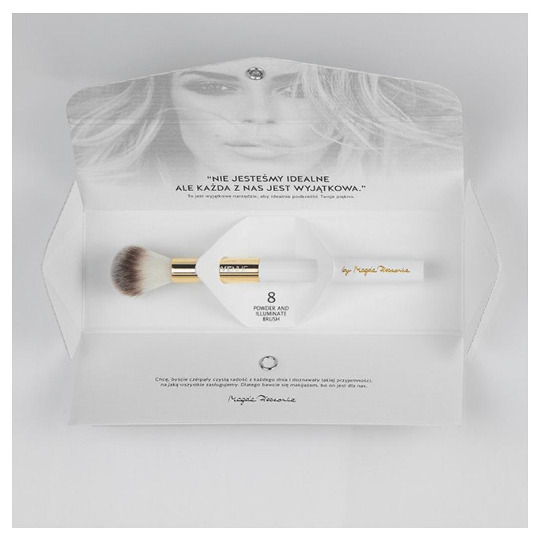 LOVENUE by Magda Pieczonka Pędzel do pudru i rozświetlacza| SoBio Beauty Boutique
