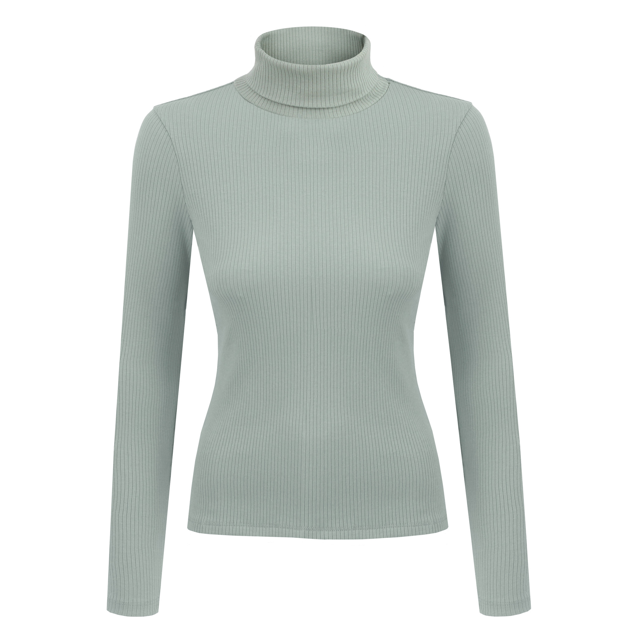 NAGO organic cotton turtleneck / mint | SoBio Beauty Boutique