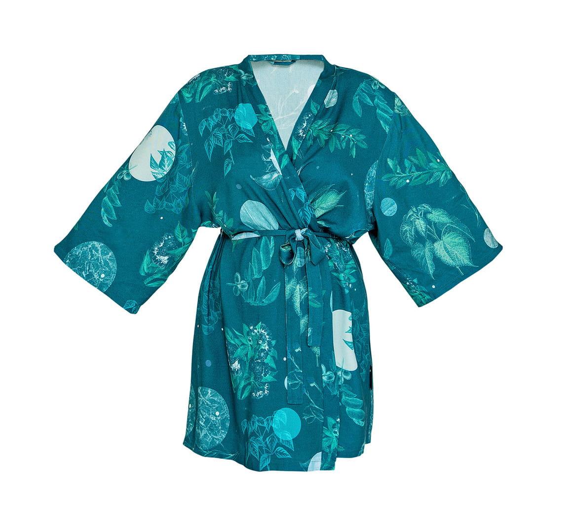 LULLALOVE Kimono Bambusowe Moon Garden | SoBio Beauty Boutique