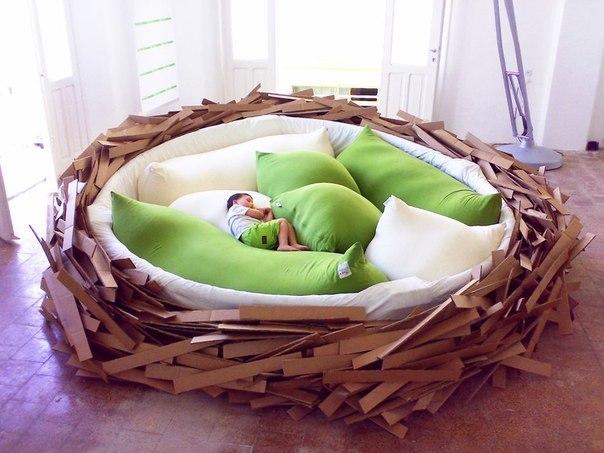 кровать гнездо