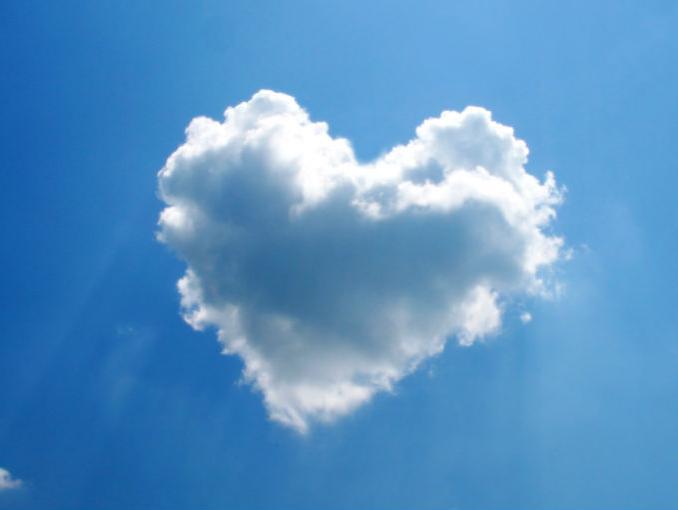 облако сердце