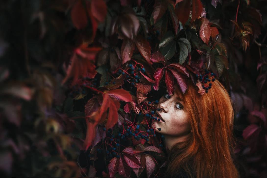 Октябрь будит тебя листопадом