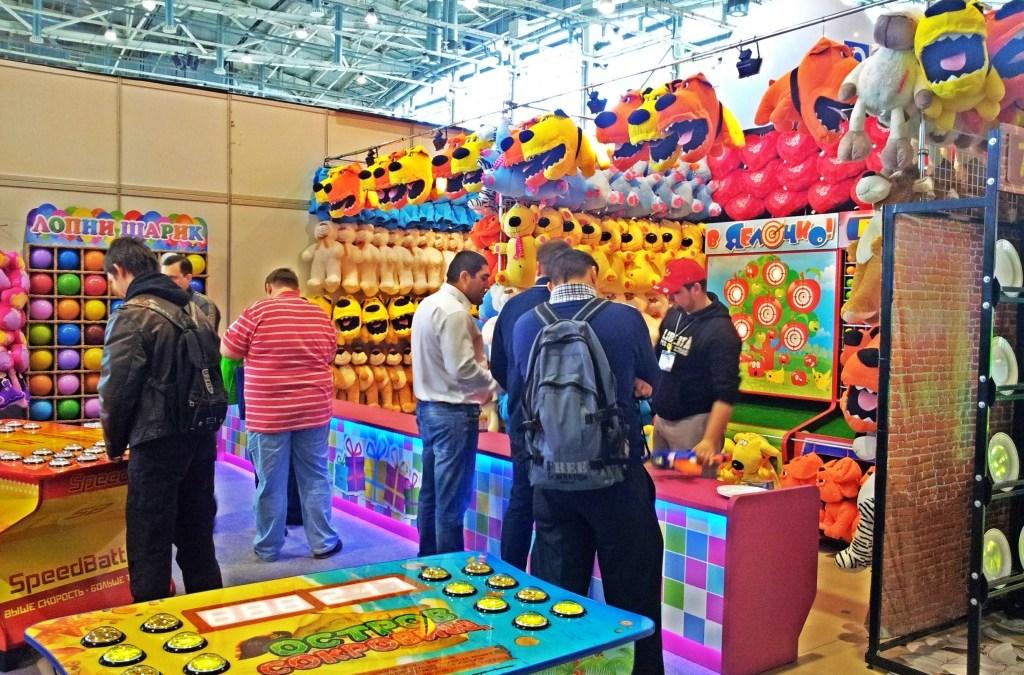 Какие детские аттракционы стали открытием выставки РАППА 2014?