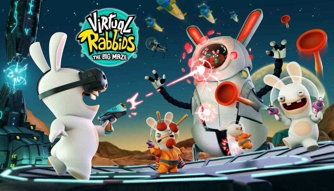 аттракцион виртуальной реальности virtual rabbids