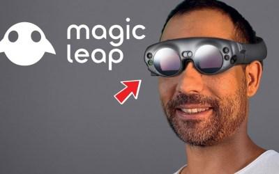 Magic Leap One — очки дополненной реальности стирающие грань виртуального и реального миров