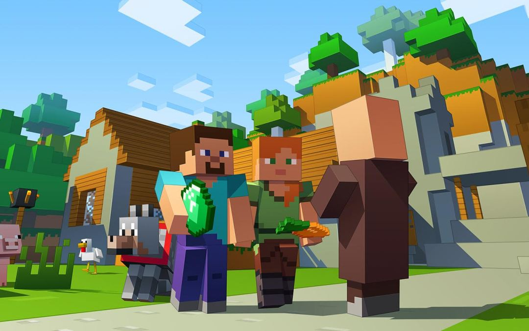 Minecraft в виртуальной реальности