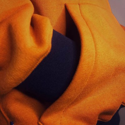Sweat Ocre Renaissance SOBO, ecoresponsable et made in France