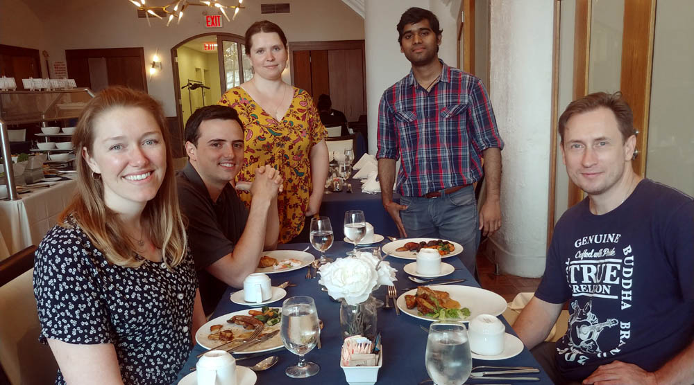 Sobolevsky Lab team lunch