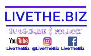 LiveTheBiz Socia Logo