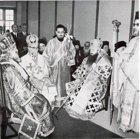 Всеправославное совещание. Шамбези, 1968 г. Митр. Никодим (Ротов)