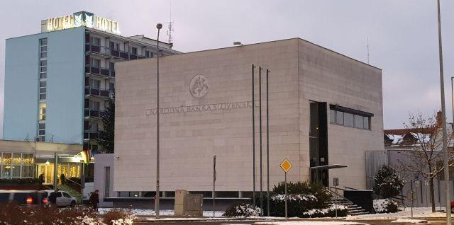 vývojové centrum, Národná banka Slovenska Lučenec