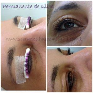 cilios lashes permanente rimel coloração