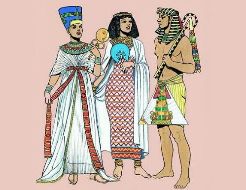 Moda en el Antiguo Egipto