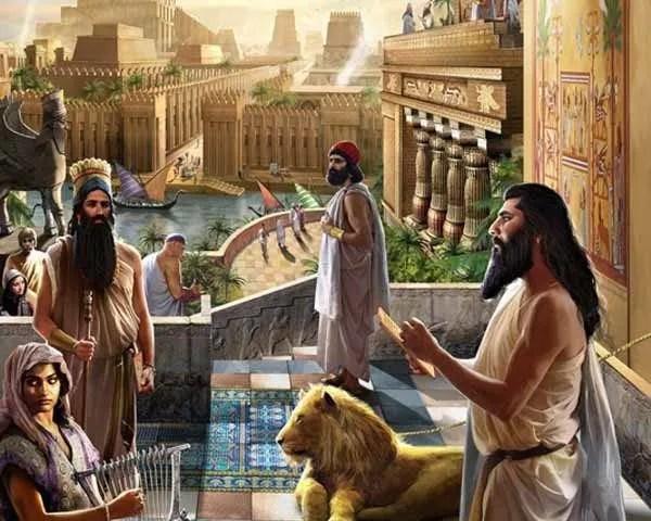 Conquista Ciro Jardines Babilonia