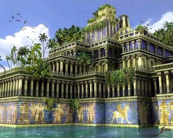 Desaparicion jardines colgantes Babilonia