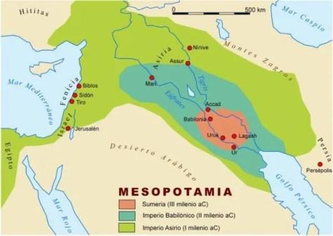 las-civilizaciones-antiguas-mapa-sumerio-acadios