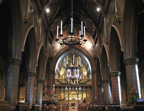 Interior de Saint Giles