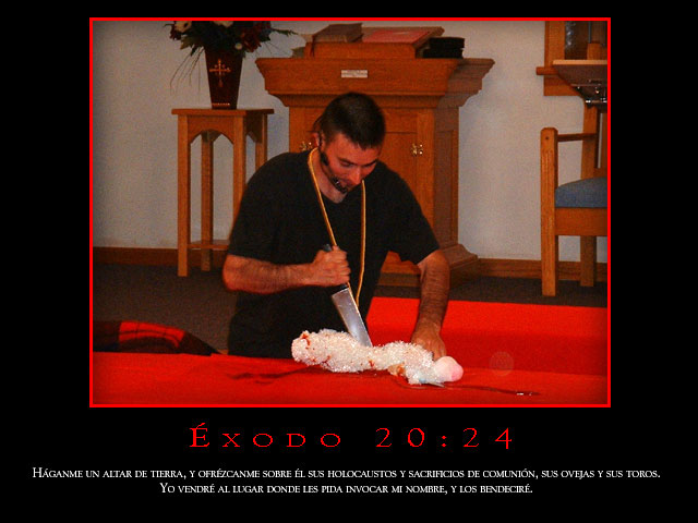 Éxodo 20:24