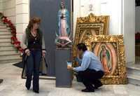 Exposición de arte guadalupano en la ALDF