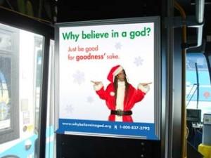 ¿Por qué creer en un dios? Simplemente sé bueno, por amor a la bondad