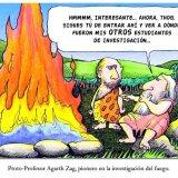 Pionero en la investigación del fuego