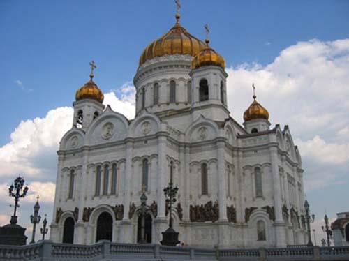catedral de cristo salvador moscu