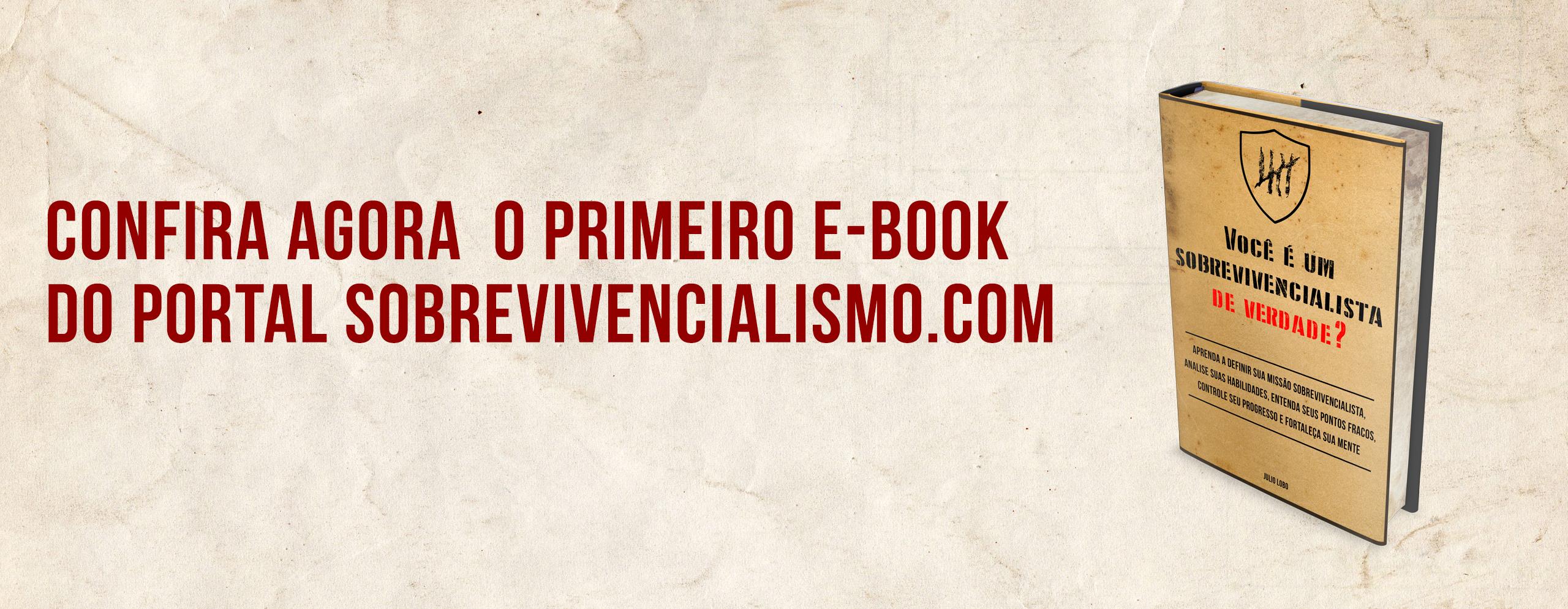 E-book: Você é um sobrevivencialista de verdade?
