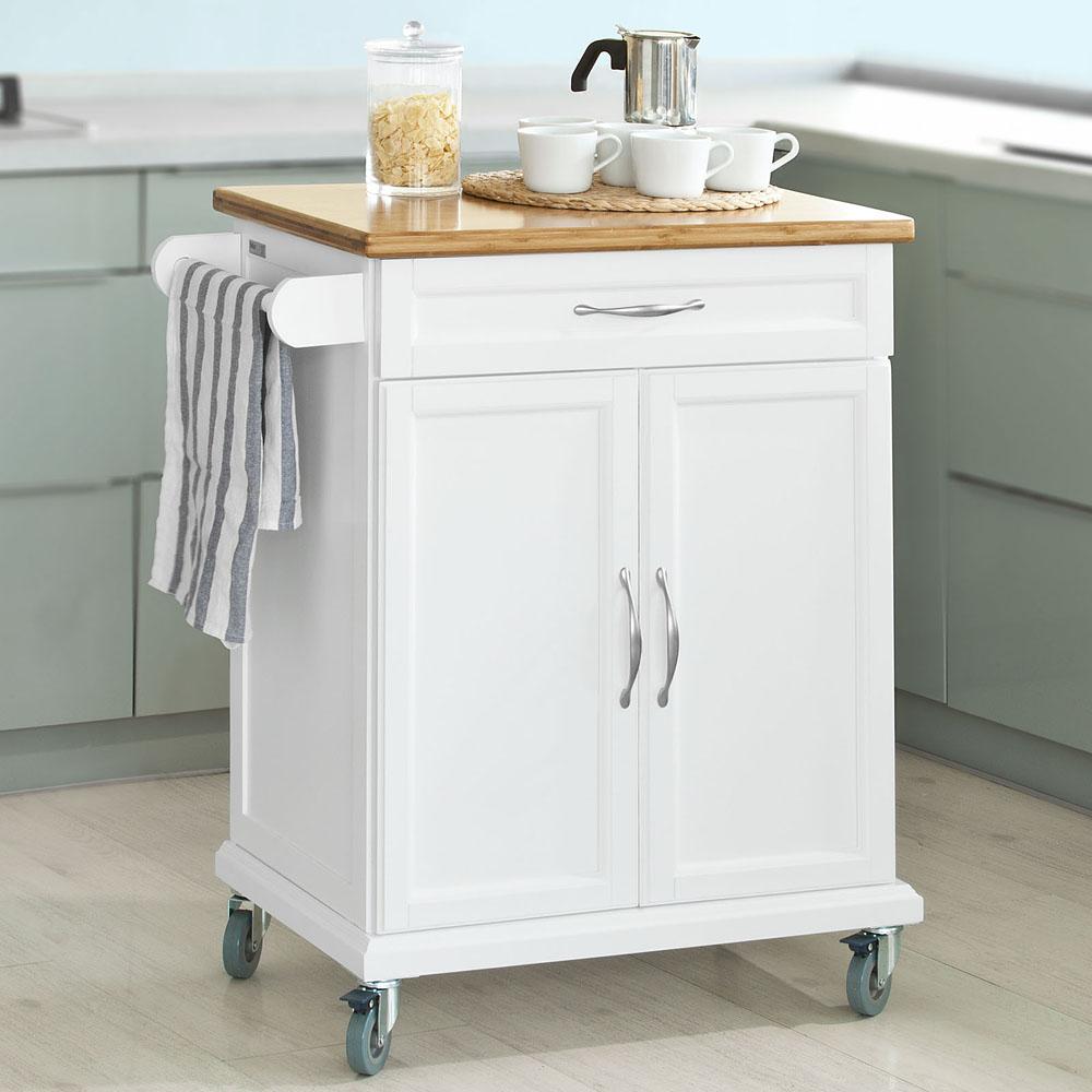 details sur sobuy desserte a roulettes dressoir chariot meuble rangement cuisine fkw fr
