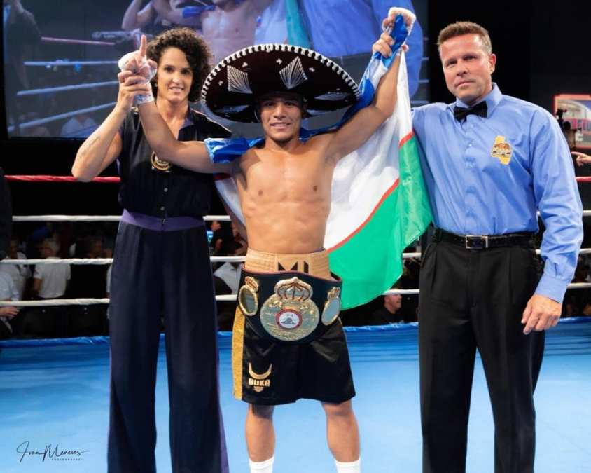 Akhmadaliev Wins WBA Belt, Keeps Streak Going