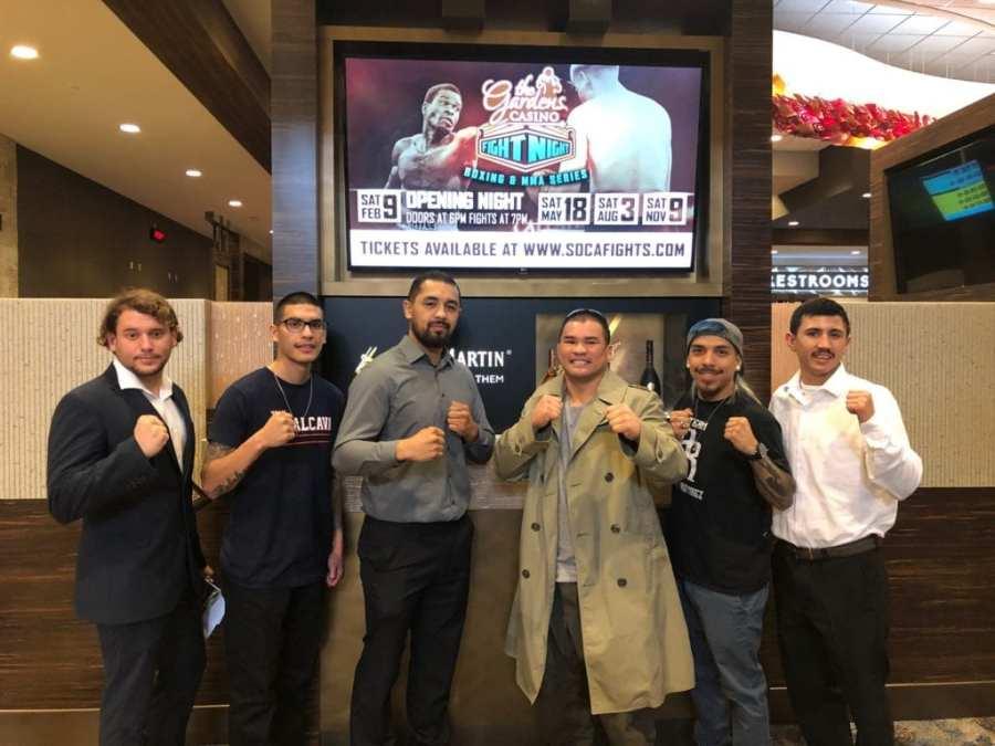 Hybrid Fight Show Kicks Off Gardens Casino Fight Night Series