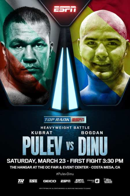 Top Rank ESPN Heavyweight Battle March 23