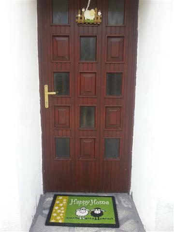 Soča Home Bovec apartment entry.