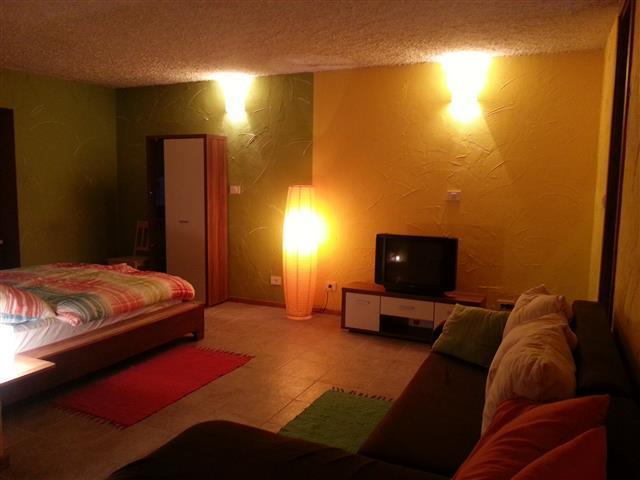 Living room at Soča Home Bovec