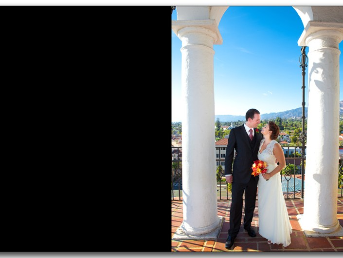 Santa Barbara Courthouse Cabrillo Arts Center wedding