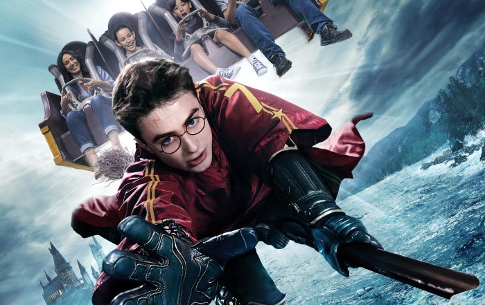 Harry Potter and Forbidden Journey ride - WWoHP at USH - key art