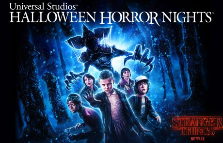 Stranger Things key art - Halloween Horror Nights