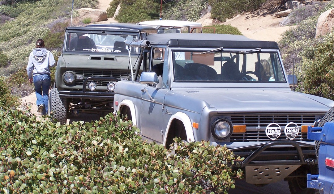 Big Bear Bronco Bash IV – Clark's Grade – June 2005
