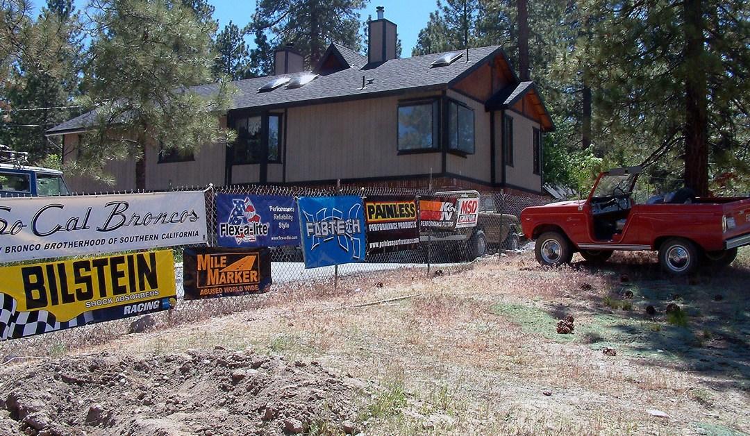 Big Bear Bronco Bash V – Headquarters – June 2006