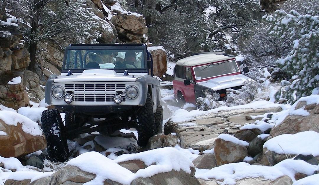 Sidewinder in the Snow – December 2007