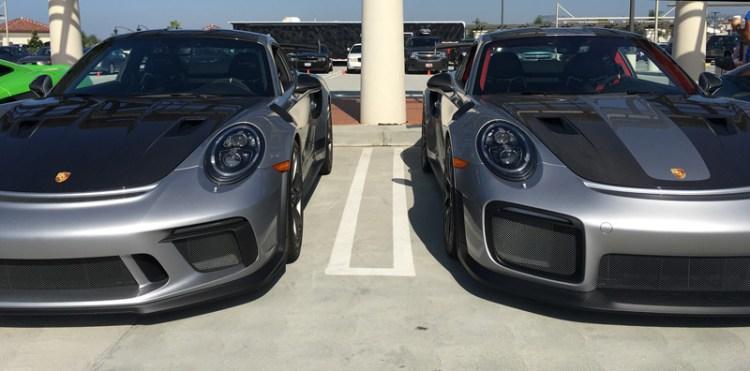 Porsche 911 GT3 and GT2