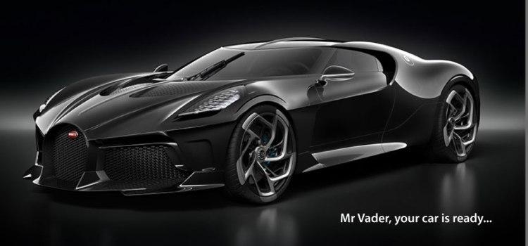Bugatti La Voiture Noire – Holy S***