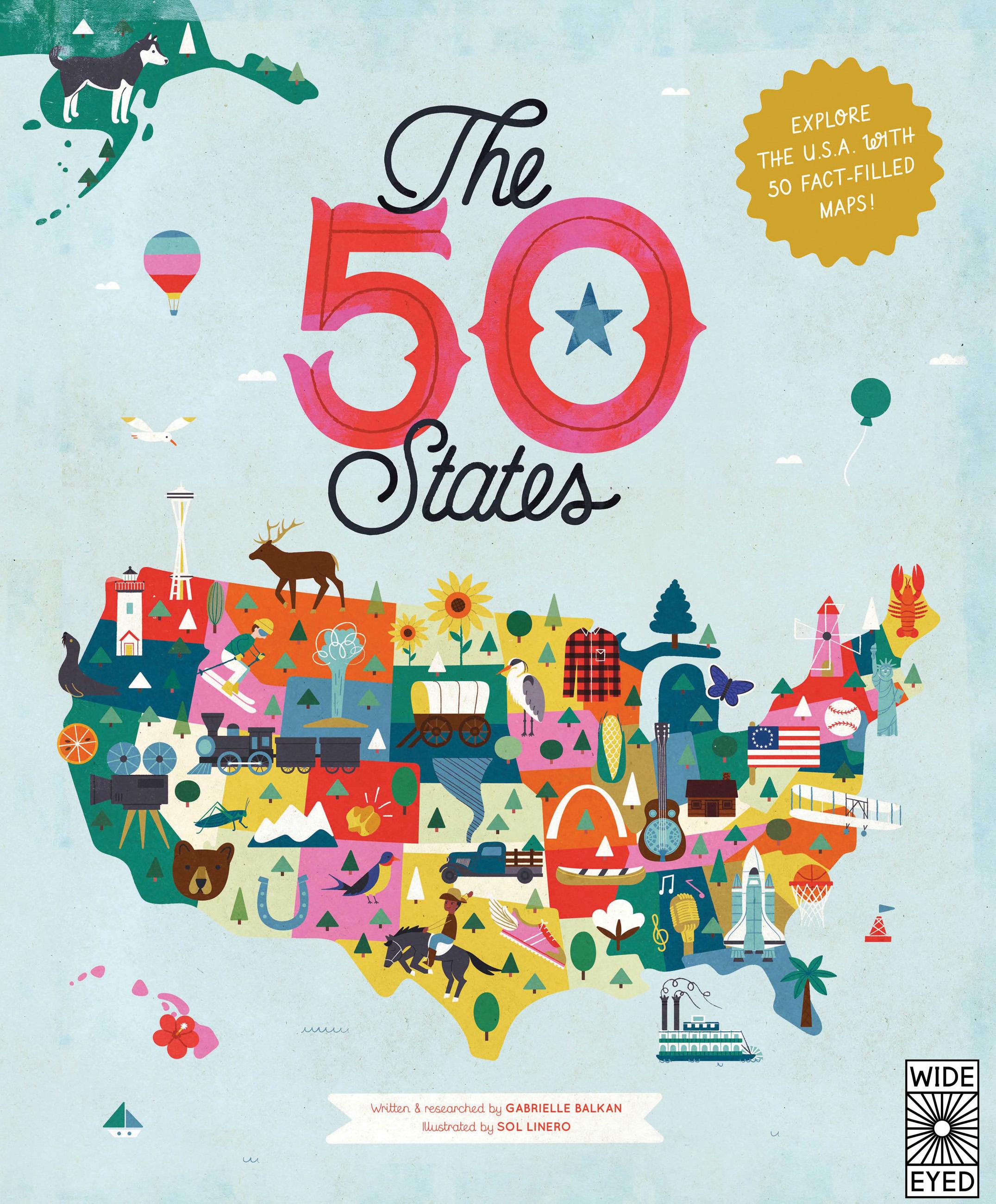 The 50 States Fun Fact Blog Extravaganza