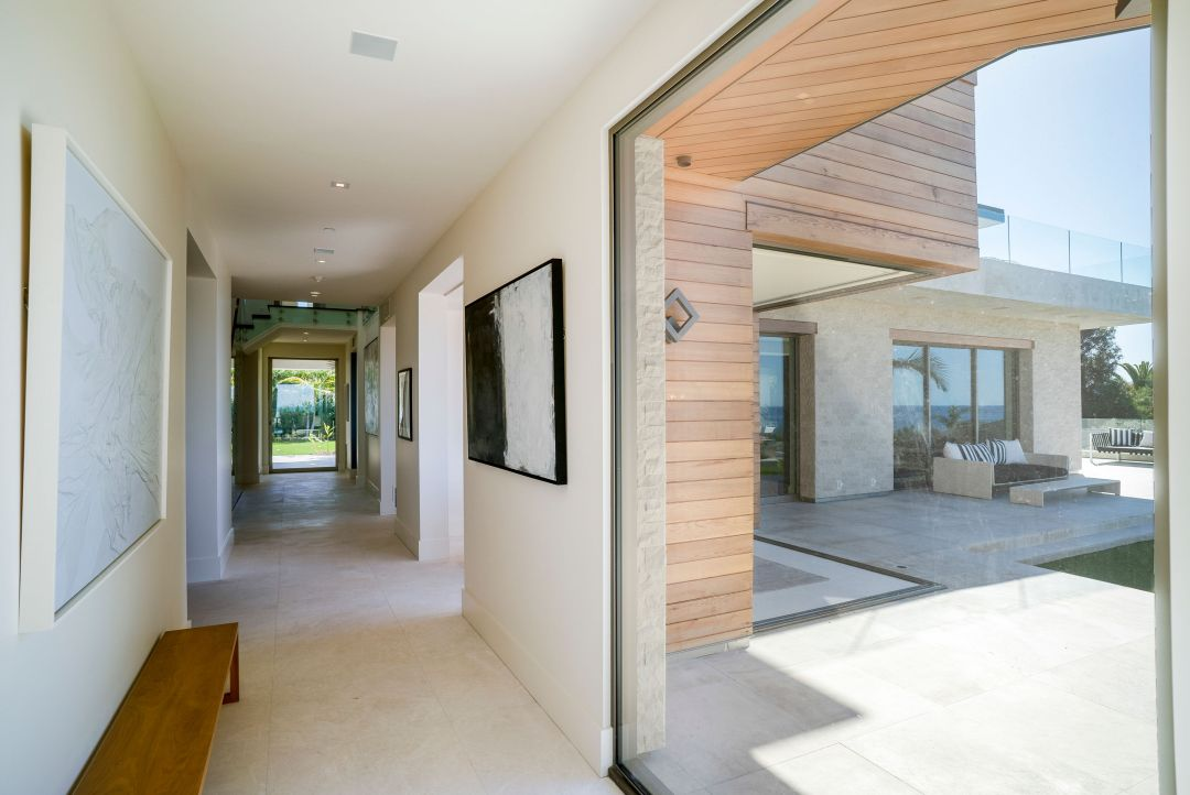 tile beach house flooring takes you from indoors to out