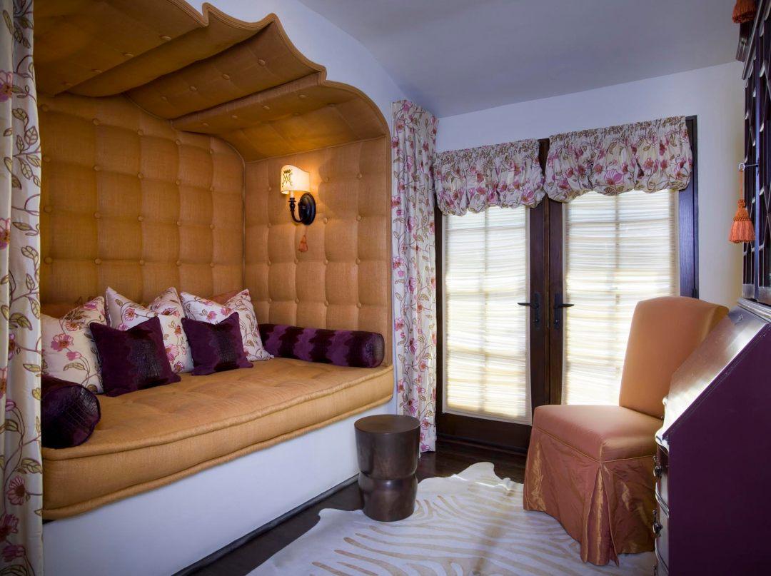custom built in meditation bed