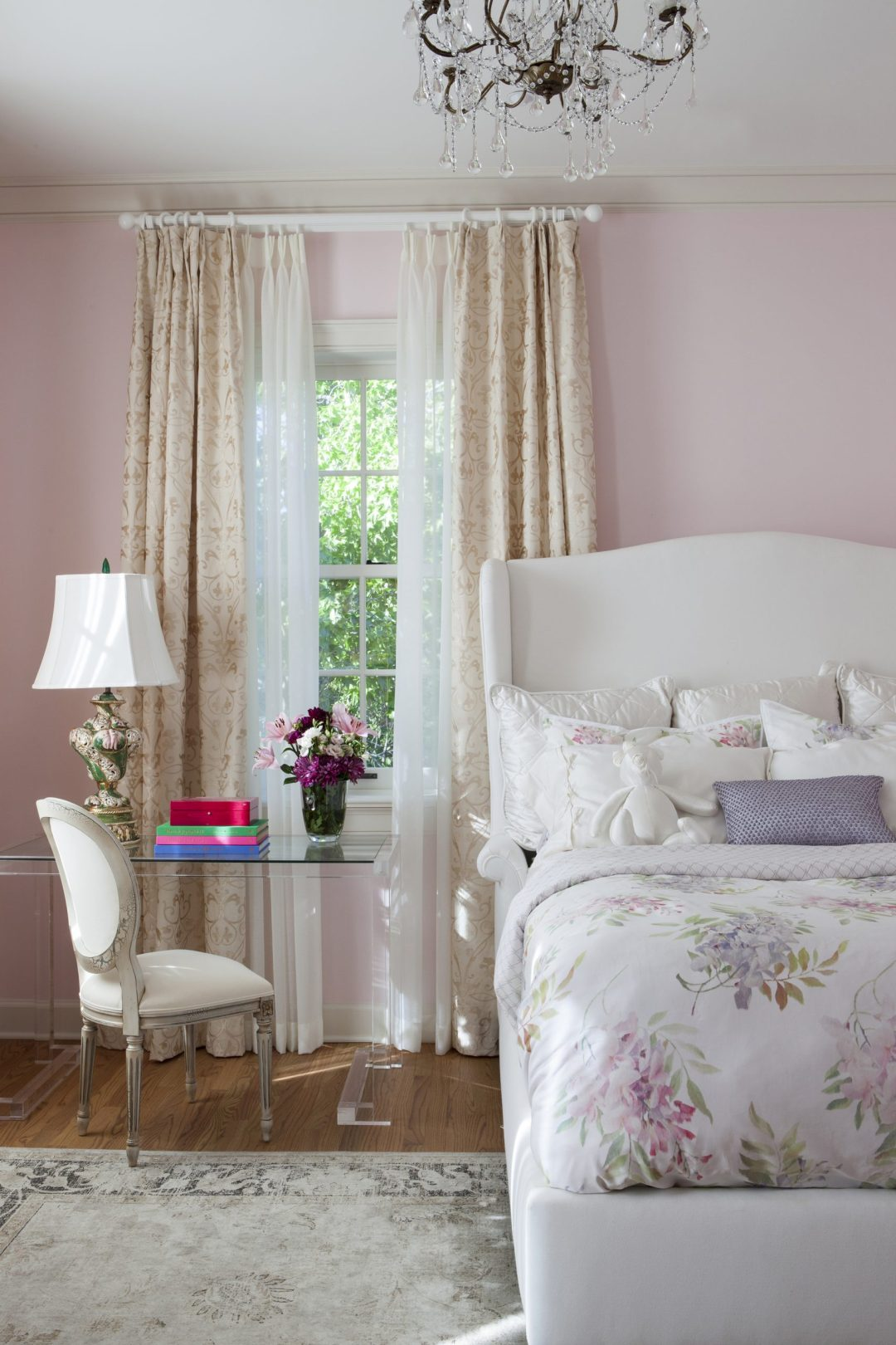 pink valentines bedroom ideas