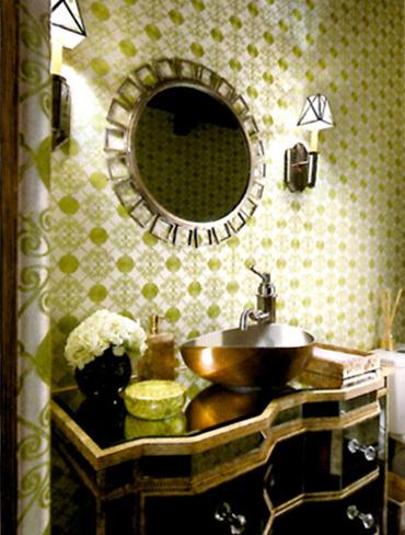 California Home and Design Magazine Spread Featuring Celebrity Designer Lori Dennis