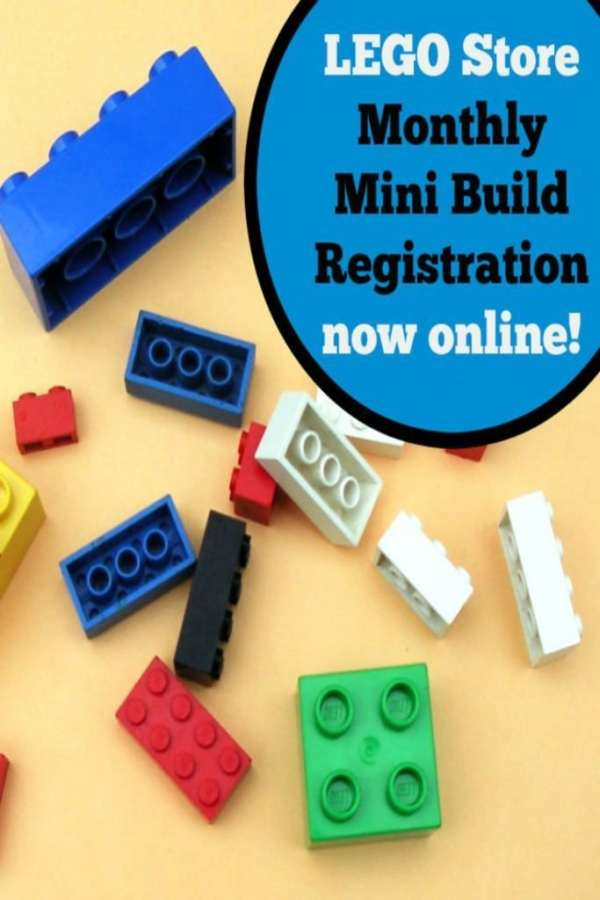 How To Register For A LEGO Store Monthly Mini Build Event